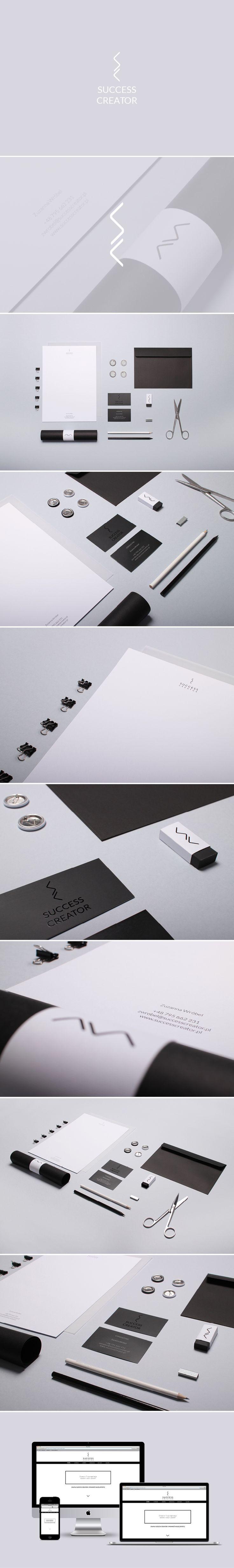 Identity SUCCESS CREATOR  Project: Marmolada design www.marmoladadesign.com www.successcreator.pl