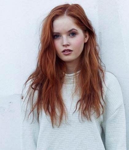 mooi rood is niet lelijk ♥ Red hair - Ellie Bamber
