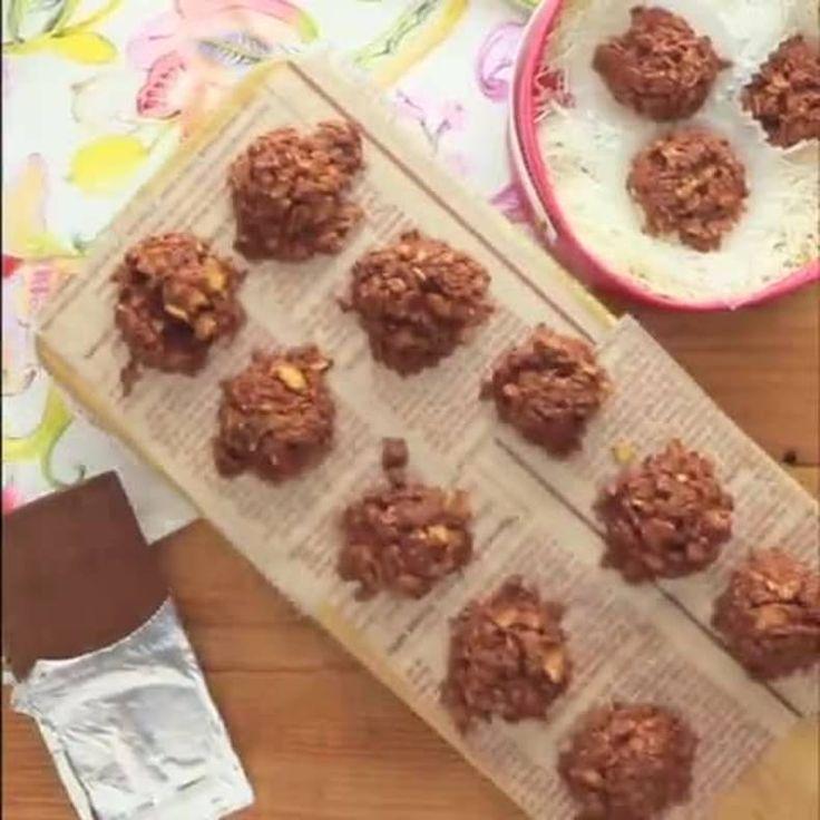 食感も美味しい 「さくさくチョコクランチ」の作り方 http://lin.ee/6IaicBA/lnnw