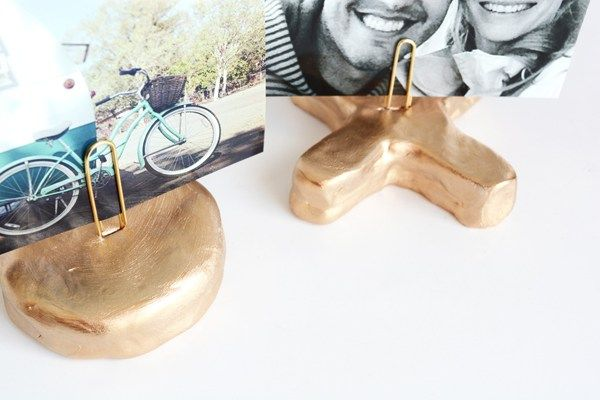 DIY X and O Picture Holders - Oleander + Palm