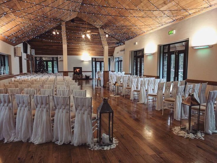 A beautiful winter ceremony at the lodge 😍 we hope everybody enjoyed their new year celebrations, we're back to our normal office hours and are welcoming any new enquiries!