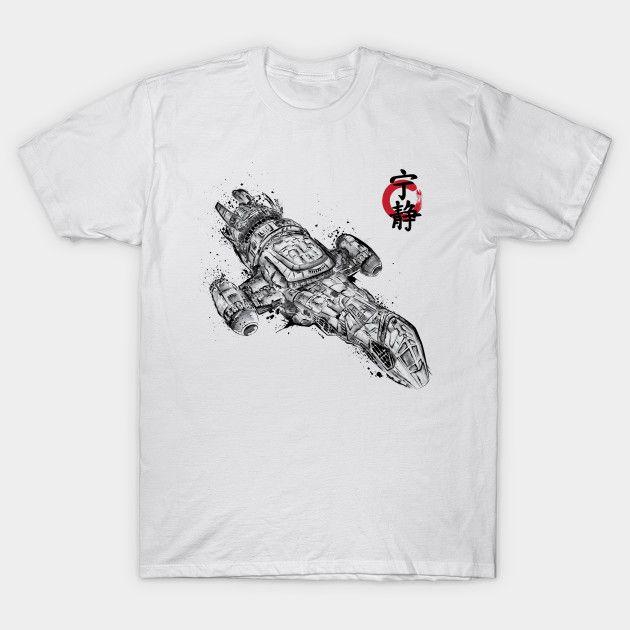 Serenity sumi-e T-Shirt - Firefly T-Shirt is $14 today at TeePublic!