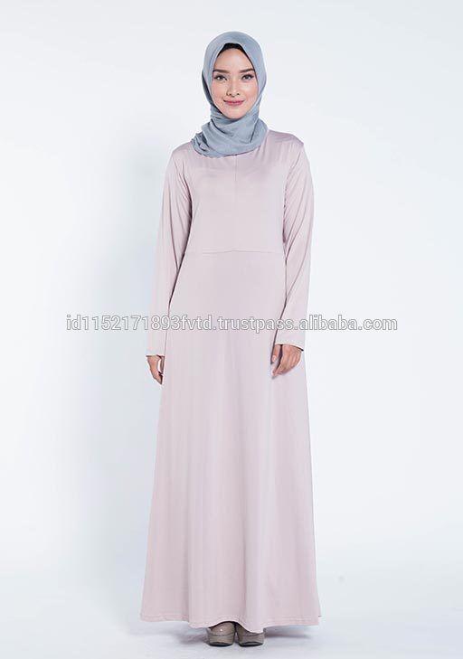 New Product Dress Elzatta Gamia Adela (Nursing Wear) Mauve Wood Hijab For The World