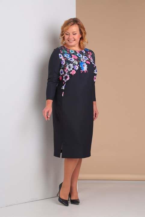 250b7fbd5a5 Коллекция одежды для полных женщин белорусской компании Novella Sharm  осень-зима 2018-19