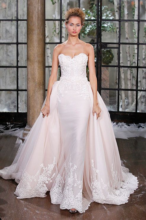 513 best Colorful Wedding Dresses images on Pinterest | Wedding ...