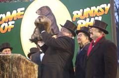 Visit the Weather Capital of the World - Punxsutawney, PA - this Groundhog Day, February 2nd!  Thousands of spectators watch as the most famous groundhog, Punxsutawney Phil, reveals his prognostication that is heard around the globe!  Will there be six more weeks of winter, or is spring on the way?