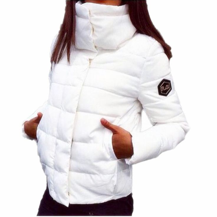 2017 Star Style Autumn Winter Female Down Cotton Jacket Stand Collar Women Parkas Coat Outerwear Inverno Parka Wadded C3201 #Affiliate