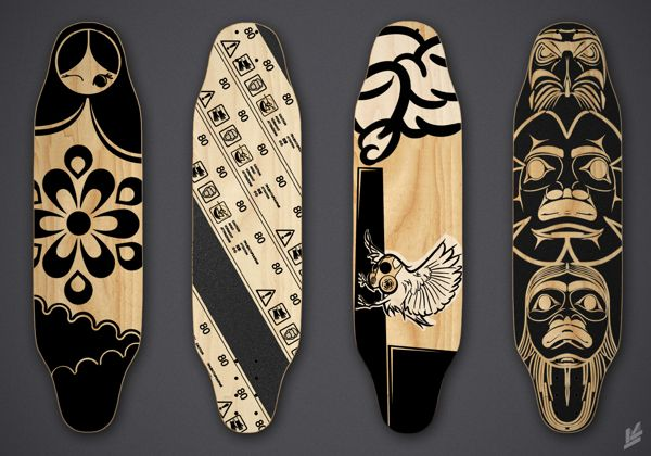 Skateboard Grip Tape Art. A girl's skateboard and grip tape: important elements in my new novel, The Jyotisha.