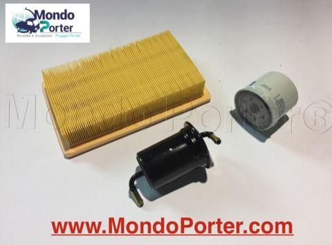 Piaggio porter Filtro Aria 780187Z08000 Filtro Olio 438038 Filtro Benzina 2330087512000