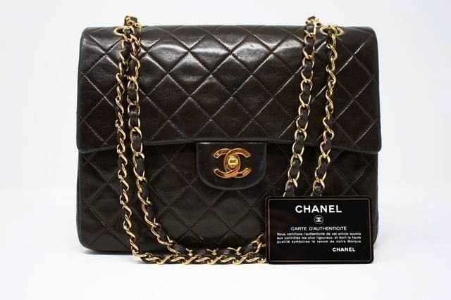 Vintage Chanel Square Double Flap Handbag At Rice And Beans Vintage Vintage Chanel Chanel Double Flap Chanel