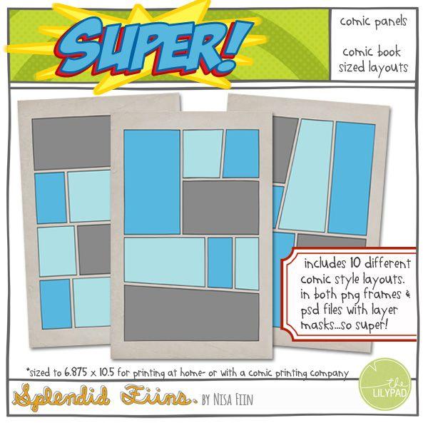 24 best Comic book club images on Pinterest School, Superhero - comic book template