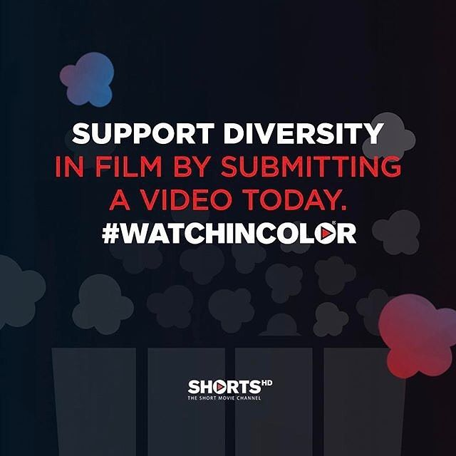 Why do you believe in #WatchInColor and more diversity in film? Tell the world today! Visit the link in our bio to share your story. - - - #WatchInColor #ShortsTV #DiversityinFilm #Film #Filmmaker #Cinema #SupportIndieFilm #ShortFilm #ShortFilms #Movies #Movie #Actor #Actress #Diverse #Diversity #Hollywood #Filmmaking #Filmmaker #Director #FilmDirector #IndieFilm #IndieFilms #Producers #Directing #ShortVideo #Inspire #Empower : @shortstv_us