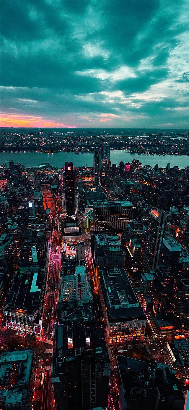 City View Sunset Iphone X Wallpapers Fotografia Paisaje Urbano Fotos De Fondo De Pantalla Ciudad Fotografia