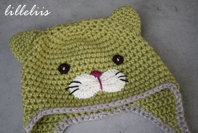 crochet cat hat tutorial - Google Search