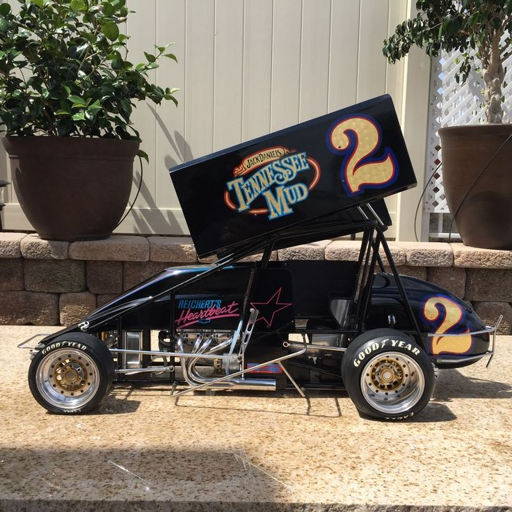 Pin by William Sharp on 1/4 Scale Sprints Sprint cars