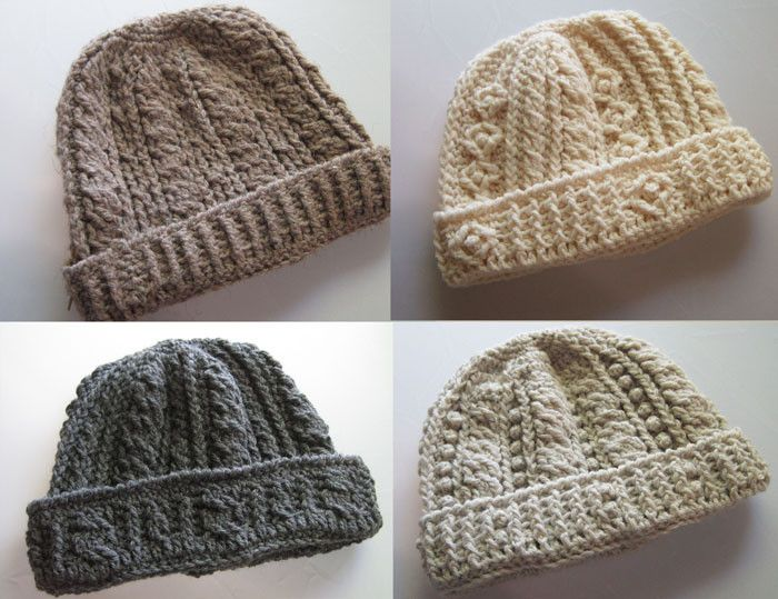 Maggie's Crochet · Rugged Mountain Hats Collection Crochet Pattern Download