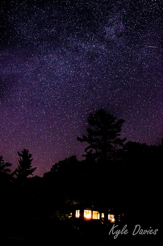Night Sky at the Cottage