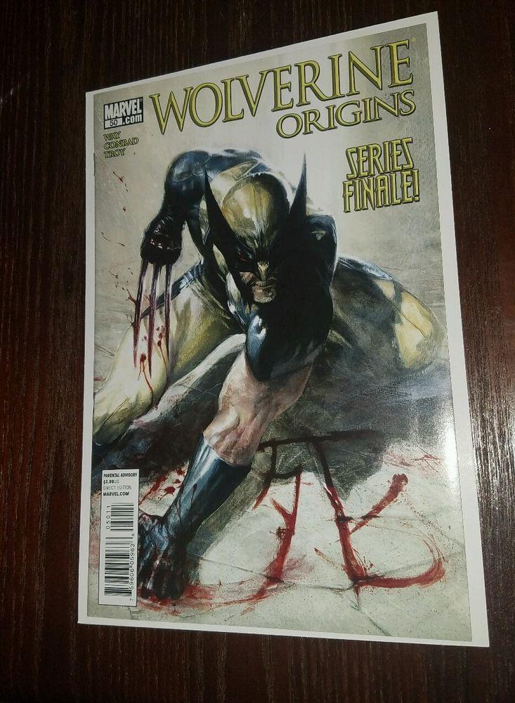 WOLVERINE : Origins # 50 DELL OTTO COVER MARVEL COMICS