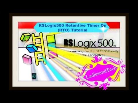 RSlogix ladder logic Retentive Timer On (RTO) Tutorial - YouTube