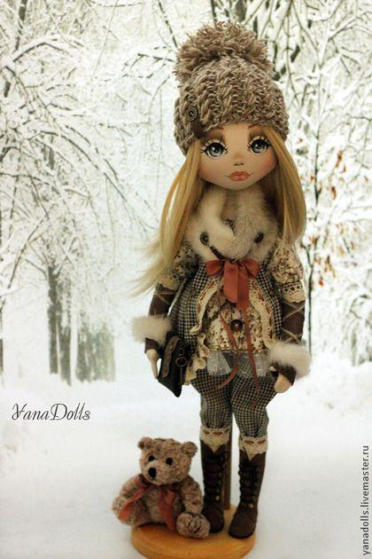 Коллекционные куклы ручной работы. Ярмарка Мастеров - ручная работа Ирэн. Handmade.