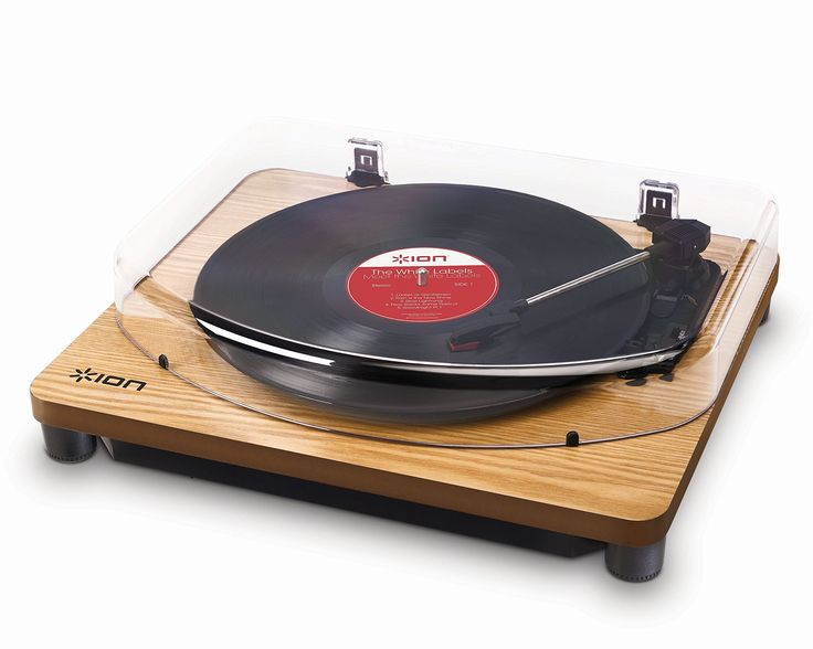 Ion Audio Classic LP Wood | Vinyl Plattenspieler / Turntable und USB Digital Encoder - inkl. Converter Software (MAC/PC)