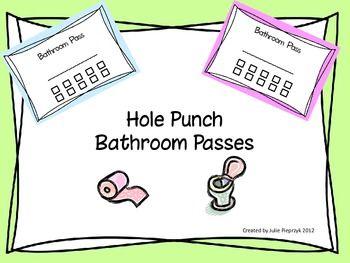 Bathroom Signs For Kindergarten bathroom pass ideas for kindergarten: ideas about purple classroom
