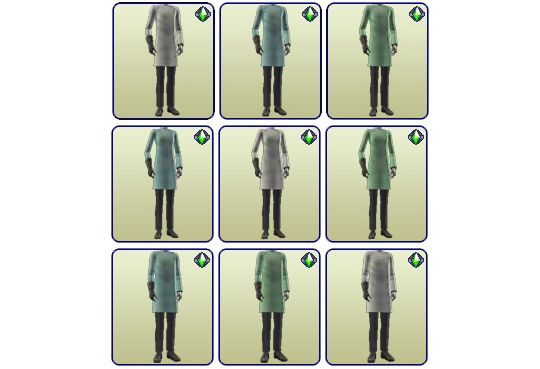 "whattheskell: "" REPOSITOBER DAY 18 - BG MAD SCIENTIST • Conversions for TF/TM/CU • Unlocked AF/AM career outfits. • Pinned to M&G so they're easier to find. DOWNLOAD MAD SCIENTIST COMPLETER (mirror) """