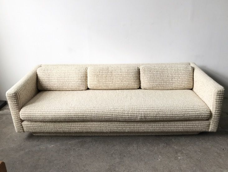 What Can We Say This Vintage Sofa Is Perfect From Milo Baughman