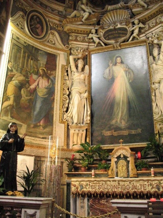 Sante Spiritu Divine Mercy Center In Rome Begun By John Paul II