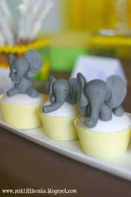 Elephant Cake Topper - Tutorial
