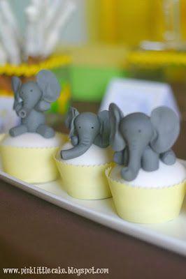 Elephant Cake Topper - Tutorial