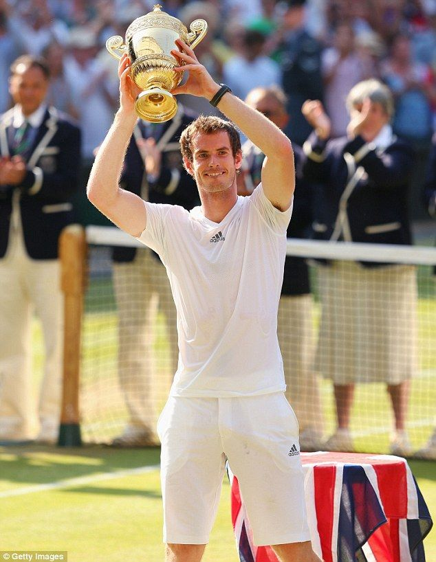 Andy+Murray+Girlfriend | kiss for Kim: Wimbledon winner Andy Murray embraces proud girlfriend ...