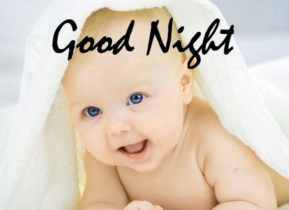 Cute Baby Good Night Images Wallpaper Pics Hd 429 Good Night Cool Baby Stuff Good Night Image Good Night Photos Hd