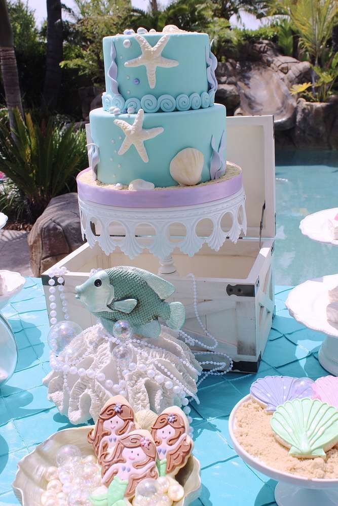 Under the Sea Mermaid | CatchMyParty.com