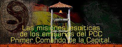 PRIMEIRO COMANDO DA CAPITAL PCC 1533: A missão do PCC Mariano Luiz Tardelli começou.