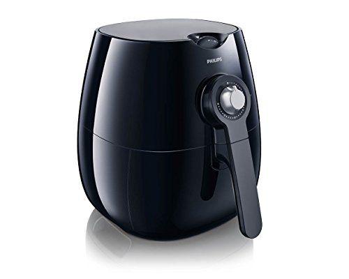 Philips – HD9220/20 – Friteuse 1425W – Noire: Technologie Rapid Air pour une cuisson savoureuse sans huile Contrôle de la température…