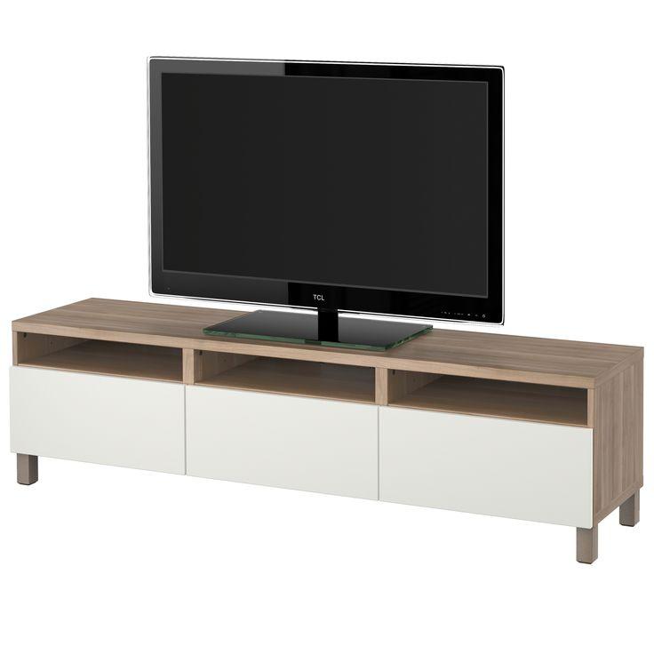 BESTÅ mueble TV+cajones