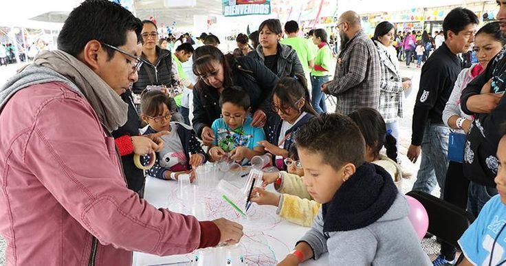 Realizó IPN Feria Infantil y Juvenil de Ciencia y Tecnología 2016
