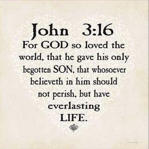 de mooiste tekst voor mij uit de Bijbel!