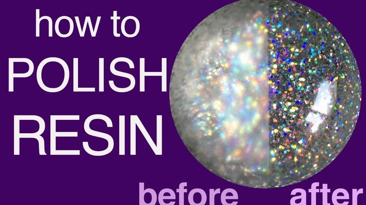 How to Polish Resin for Jewelry and more - little-windows.com
