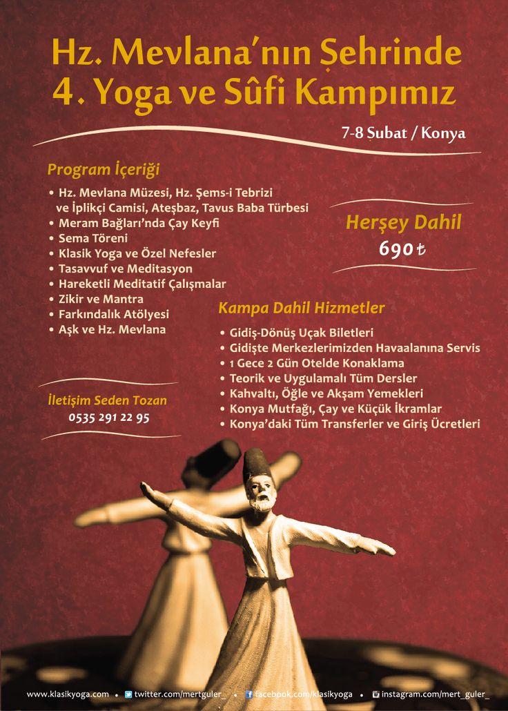 Konya Yoga ve Sufi Kampı 4 | KlasikYoga.com