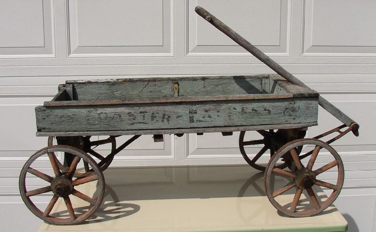 Old Antique Wooden Wagons | Pittsfield Township Historical Society :: Recent Gifts