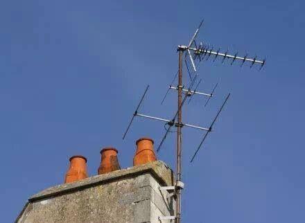 Antenne op je dak..