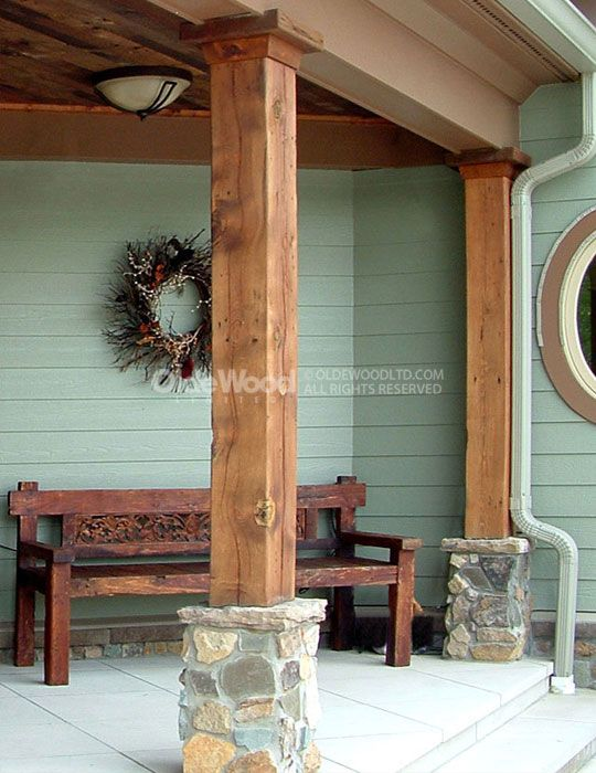 Best 25 Front Porch Pillars Ideas On Pinterest