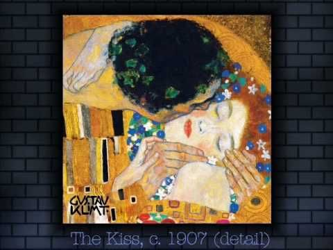 Gustav Klimt Paintings with Original Song by Carola Rost (+playlist)