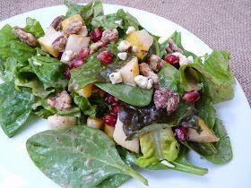 Fantastic Family Favorites: Pear Pomegranate Salad