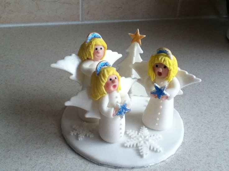 Angels christmas topper