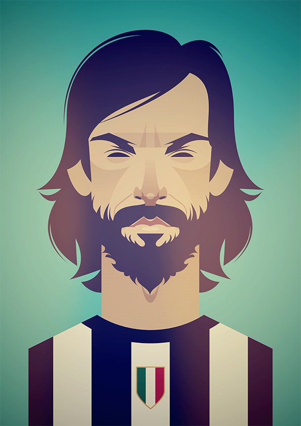 Andrea #Pirlo (thanks Collater.al)