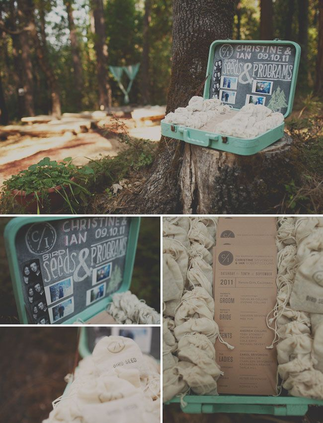 another woodsy diy just perfect wedding!