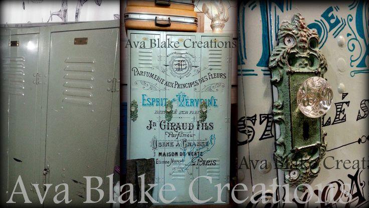 1940 s school lockers recreated, storage ideas